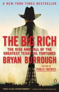 The Big Rich, Bryan Burrough, Texas oil