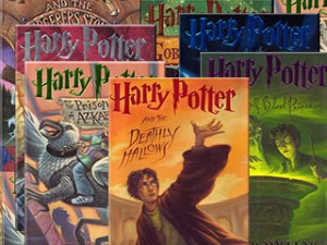 Harry Potter series, J.K. Rowling, fiction, fantasy