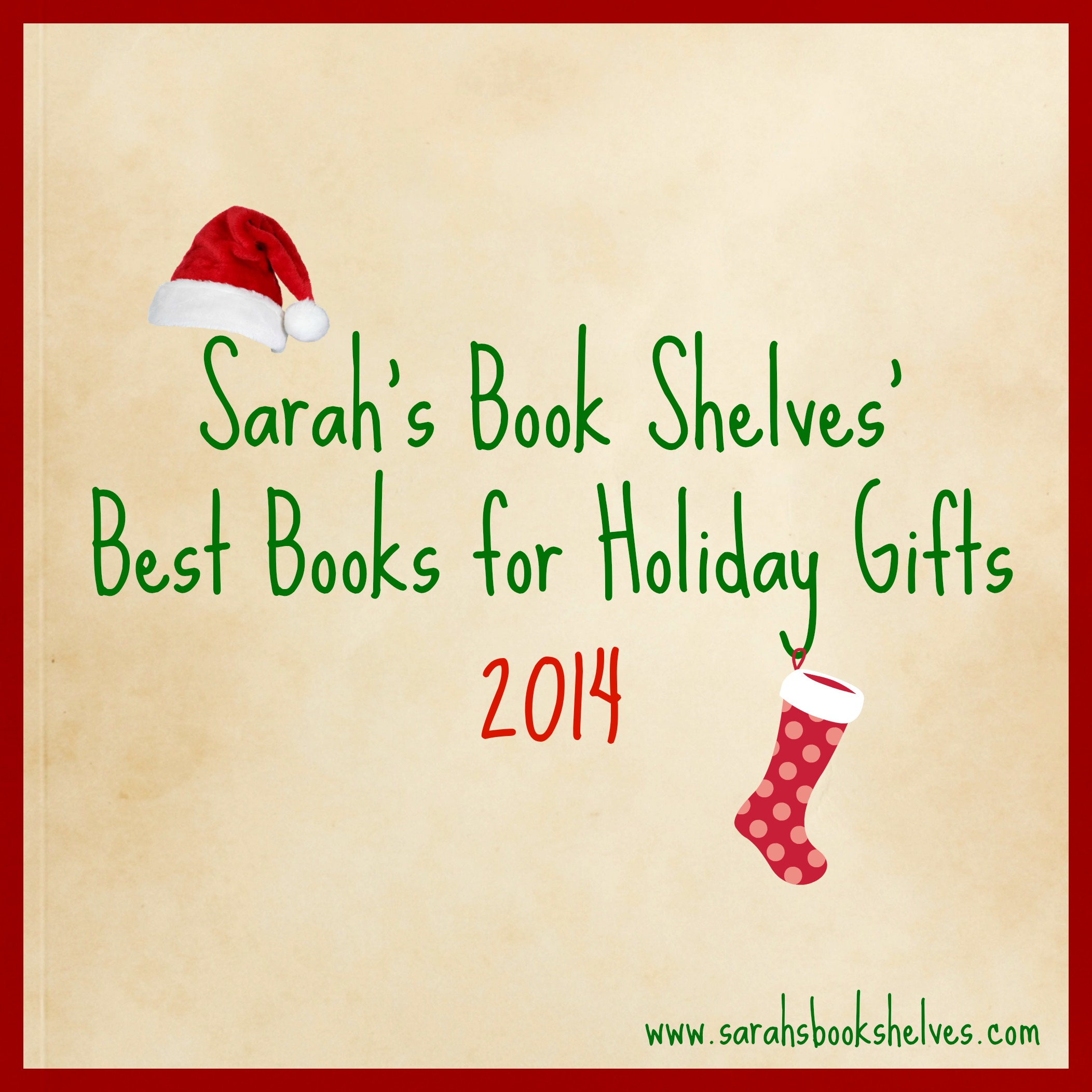 Best Books For Holiday Gifts 2014