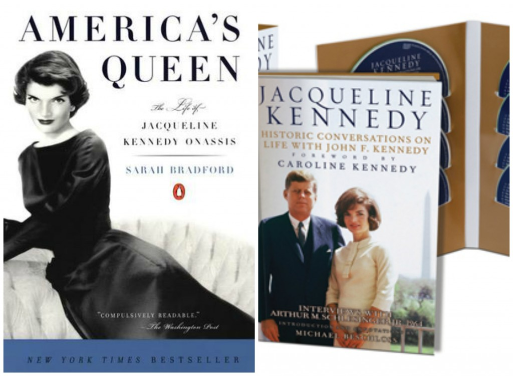 Jackie Kennedy, America's Queen, Sarah Bradford, Conversations with John F Kennedy