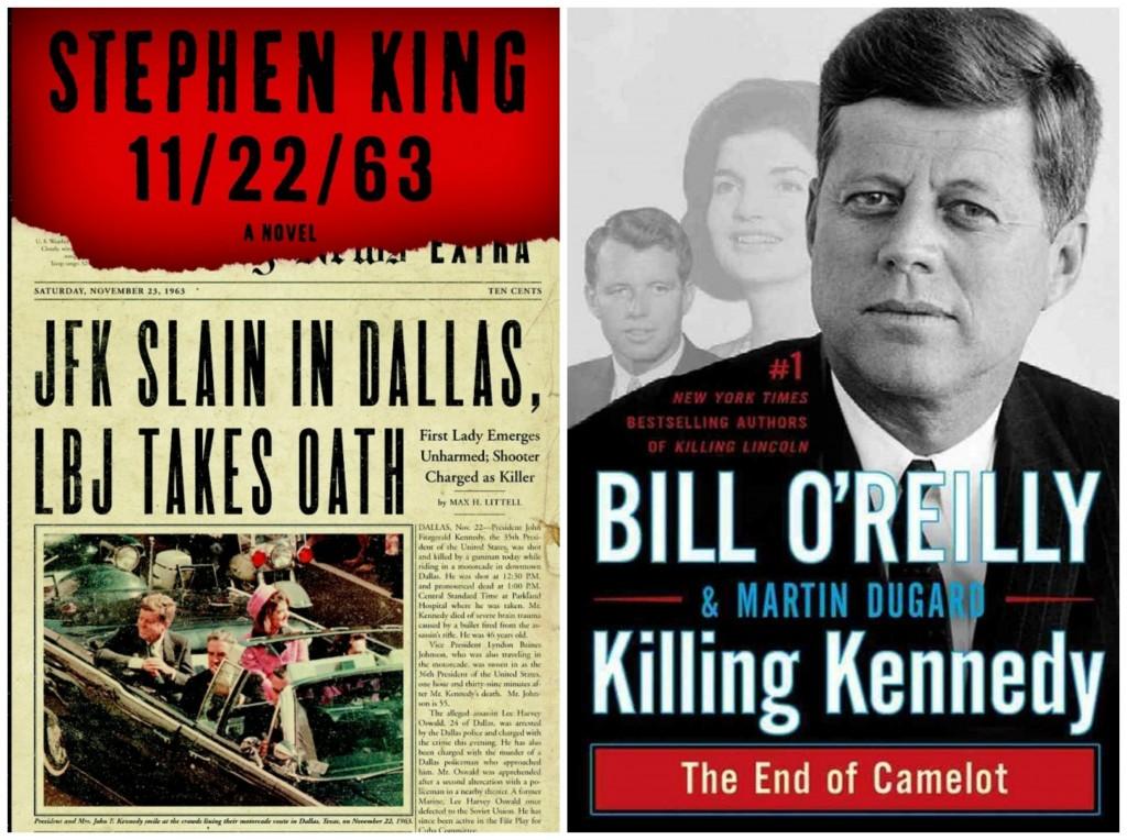 11/22/63, Stephen King, JFK assassination, killing kennedy, bill o'reilly