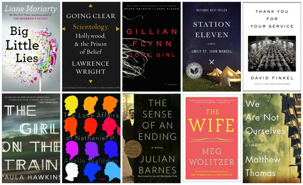 Top 10 Books I'd Like to Discuss at Book Club