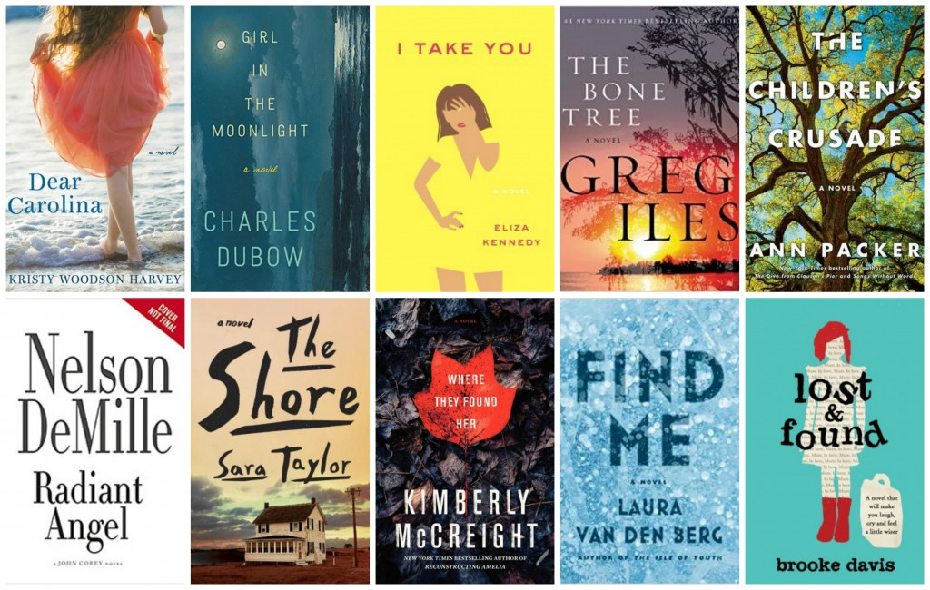 Top Ten Books on my spring TBR list
