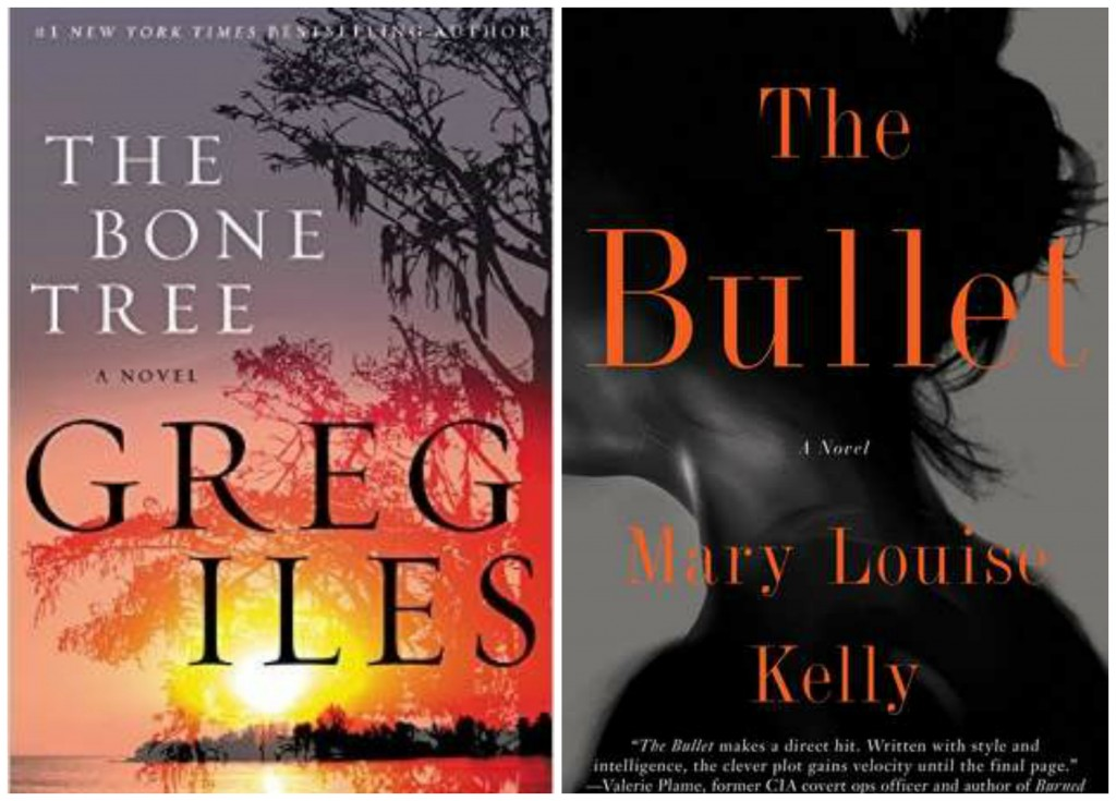The Bone Tree, Greg Iles, The Bullet, Mary Louise Kelly