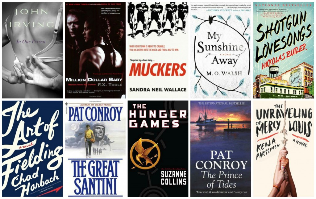 Top Ten Books Featuring Athletes