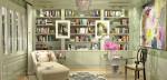 Anne Tollett Homes Library Shelves