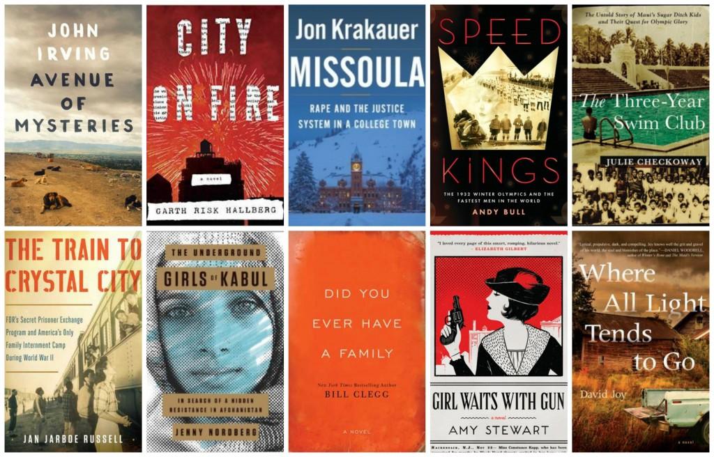 Top 10 Books on my Fall 2015 TBR List