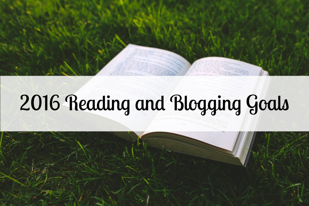 2016 Reading and Blogging Goals