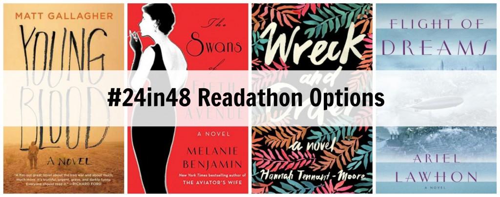 #24in48 Readathon