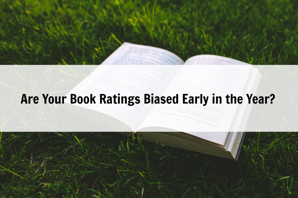 Are Your Book Ratings Biased Early in the Year?