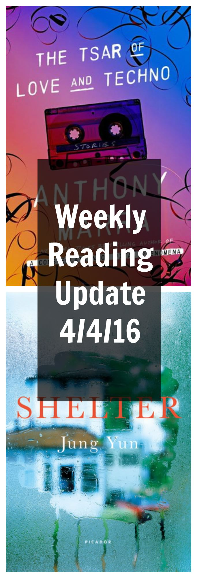 The backlist saved me last week...and I'm off to a promising start this week!
