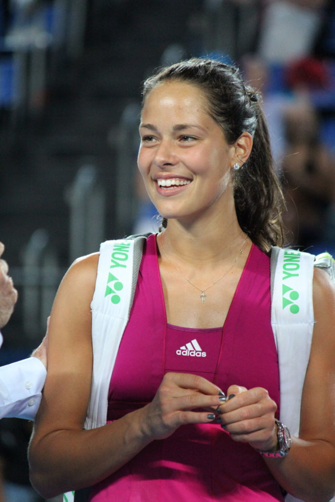 Serbian Tennis Player Ana Ivanovic (2008, 2012, 2016)