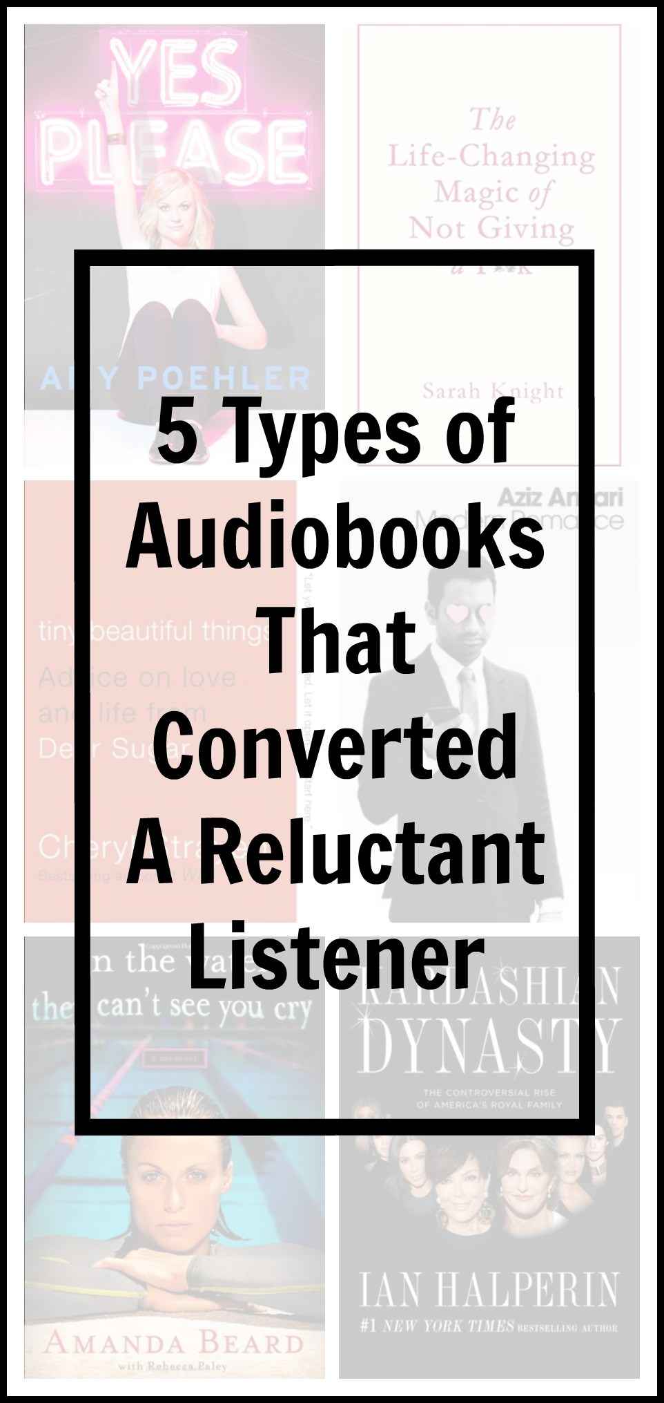 Do you have trouble concentrating on audiobooks? These suggestions might change your tune!