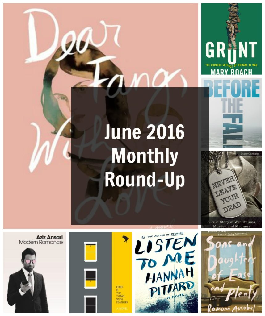 June 2016 Monthly Round-Up