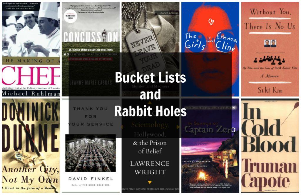 Bucket Lists, Rabbit Holes