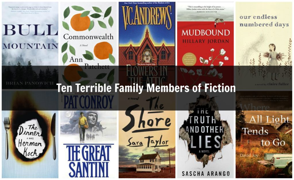 Ten Terrible Family Members of Fiction