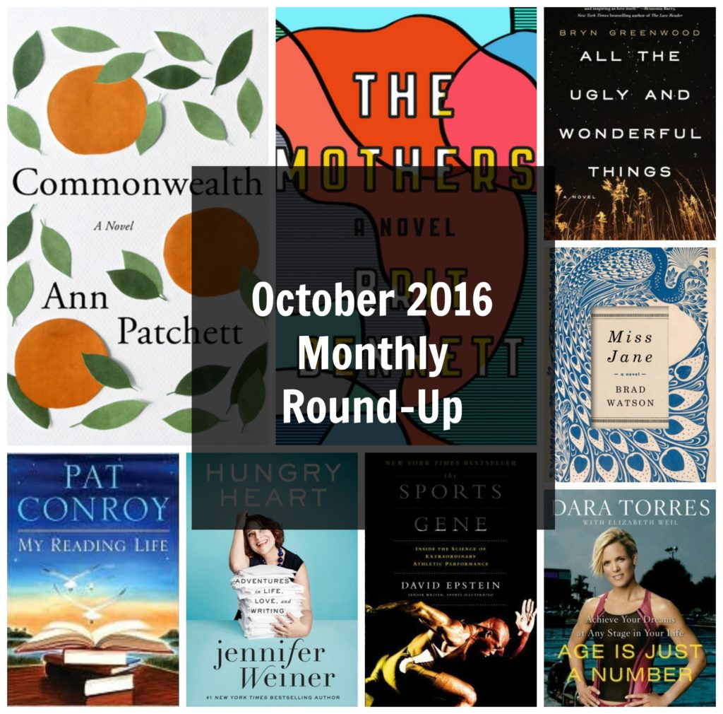 October 2016 Monthly Round-Up