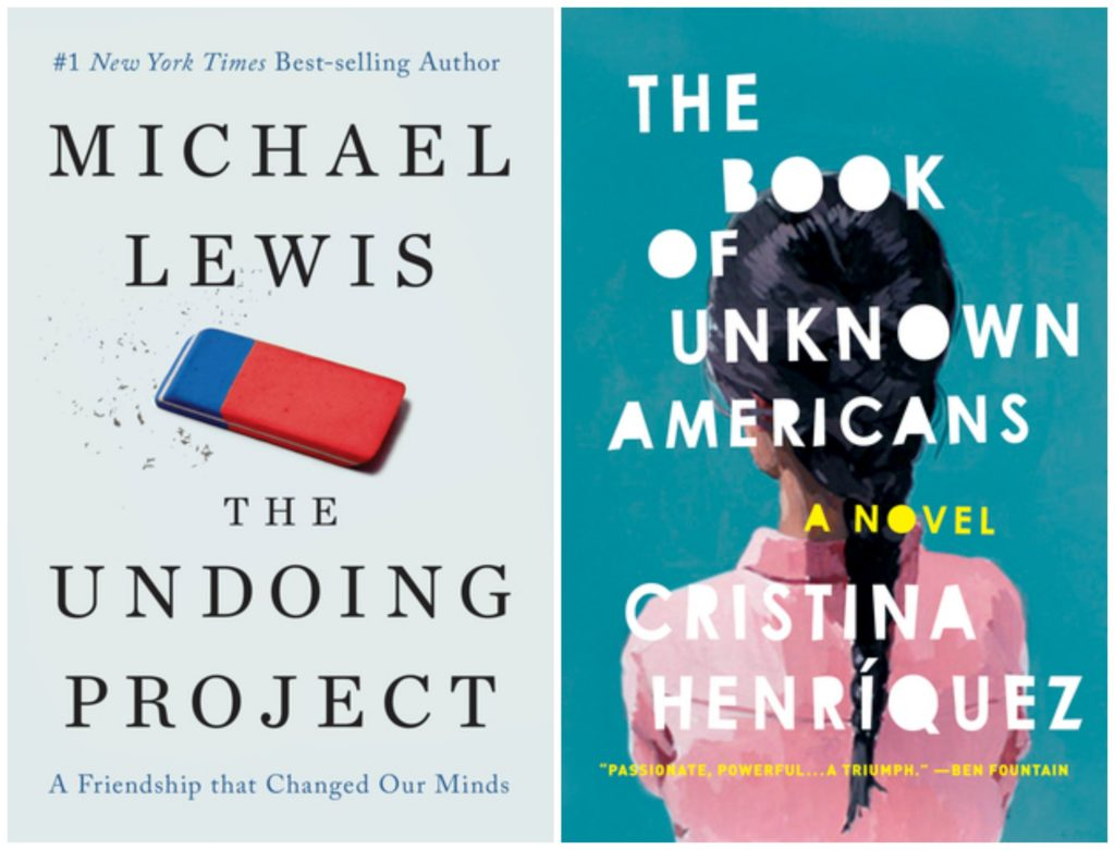 The Undoing Project, Book of Unknown Americans