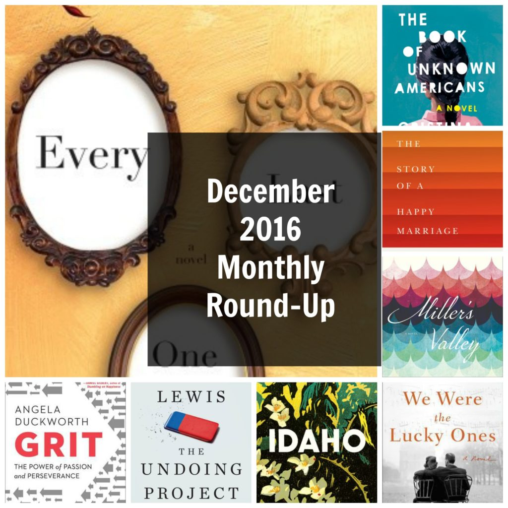 December 2016 Monthly Round-Up