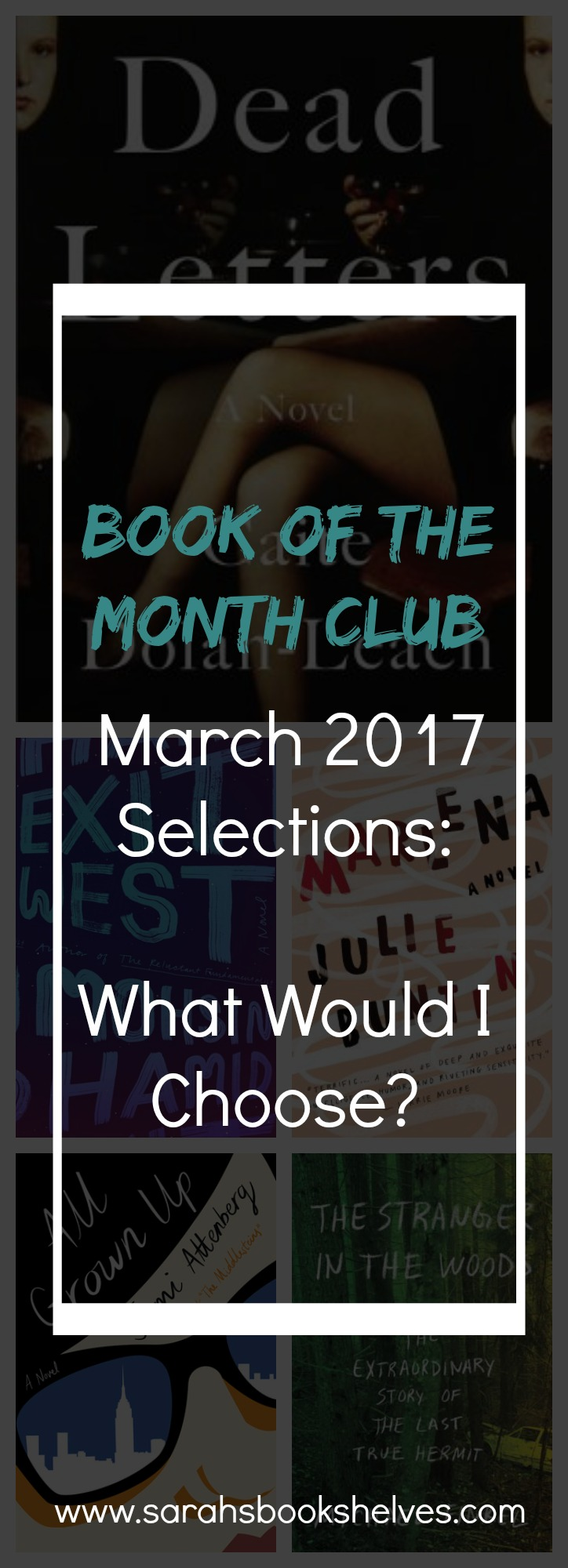 I've read 2 of the March 2017 Book of the Month Club selections! #BOTM