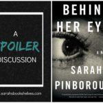 Behind Her Eyes, Sarah Pinborough, spoiler