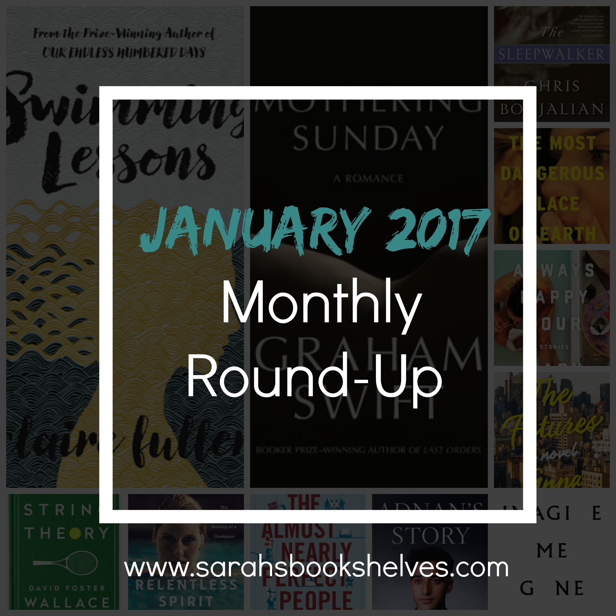 Reading Round-Up: A month of quantity over quality...