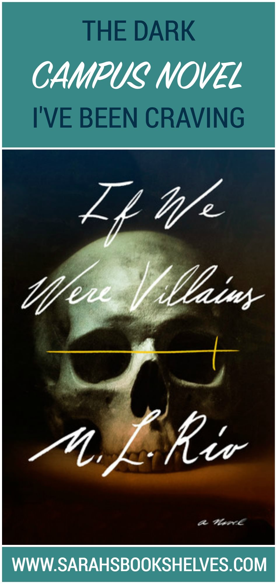 A perfect choice for fans of The Secret History, If We Were Villains by M.L. Rio is the dark campus novel I've been craving!