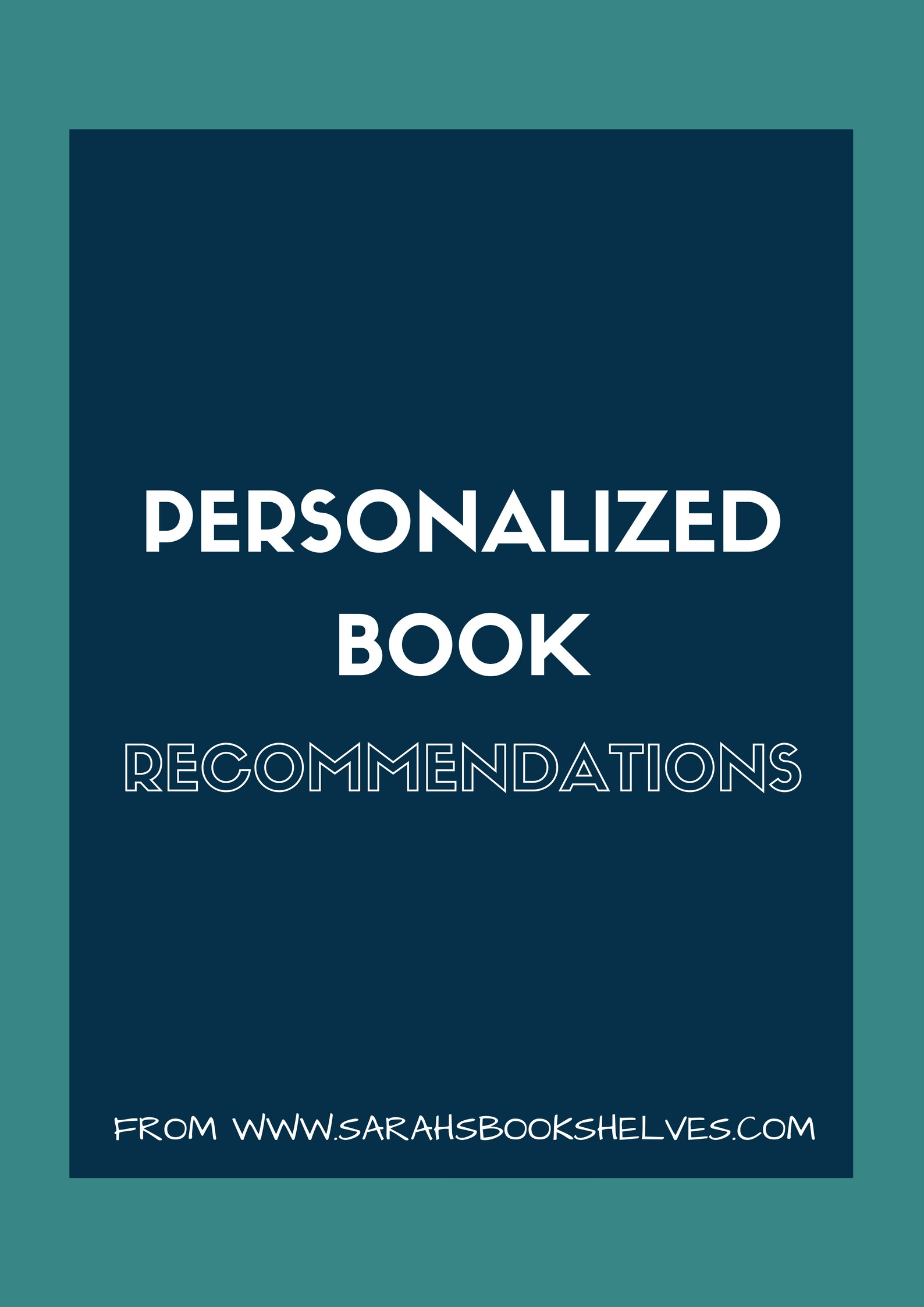 Coming soon: Personalized Book Recommendations!