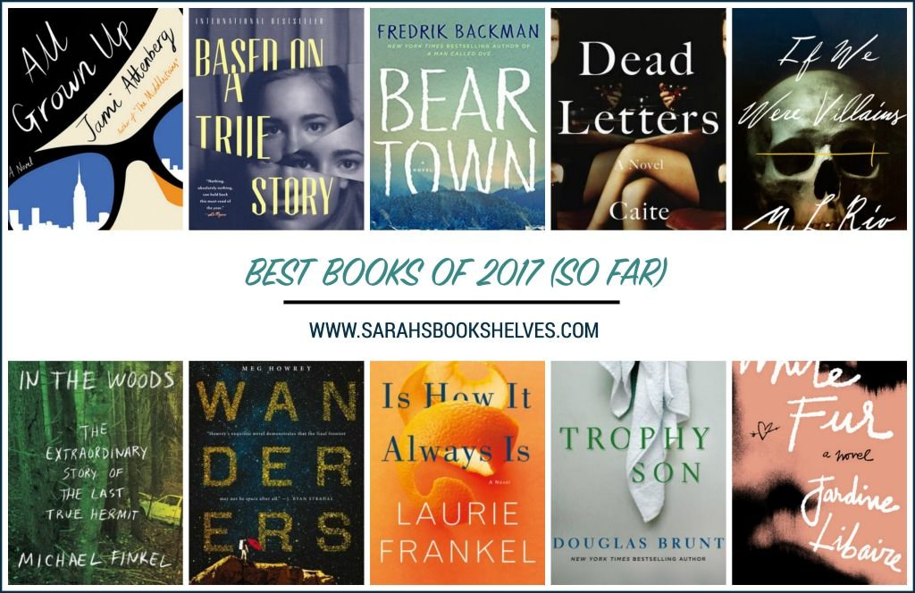 Best Books of 2017 So Far