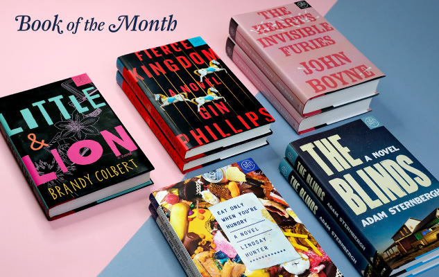 Book of the Month Club August 2017 Selections
