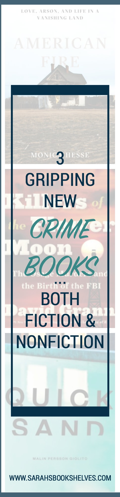 3 Gripping New Crime Books: 2017 has been the year of the crime book for me...with fiction and nonfiction books both hitting the spot! One of these books is a 5 star read for me...read the post to find out which one!