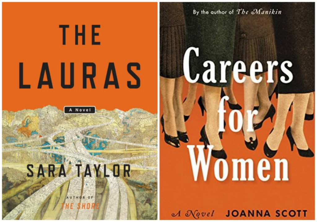 The Lauras by Sara Taylor, Careers for Women by Joanna Scott