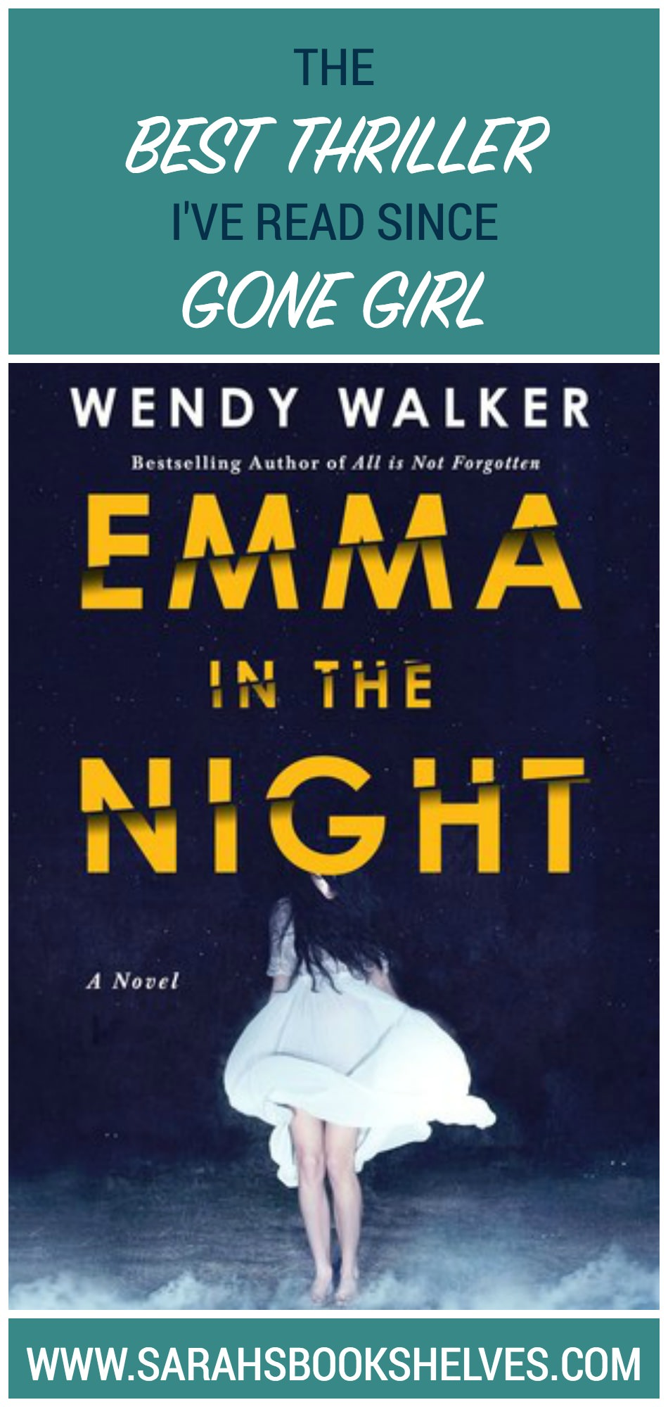 Emma in the Night by Wendy Walker is the best psychological thriller I've read since Gone Girl...its ending is surprising, yet still fits with the story!