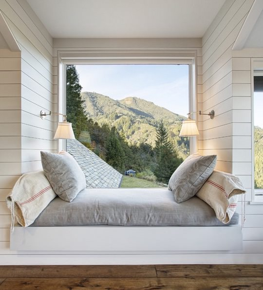 Mountain Lodge Reading Nook