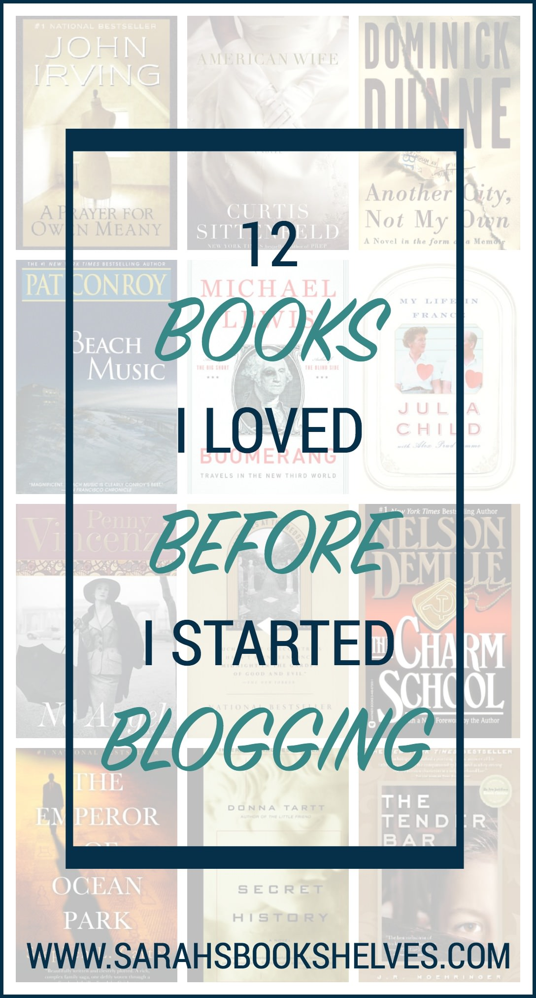 There are so many books I adored years ago that I don't talk about much here, so today I'm going to spotlight 12 Books I Loved Before I Started Blogging...