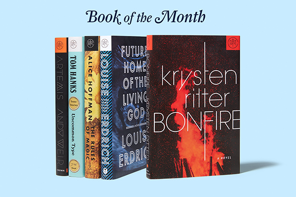 Book of the Month Club November 2017 Selections