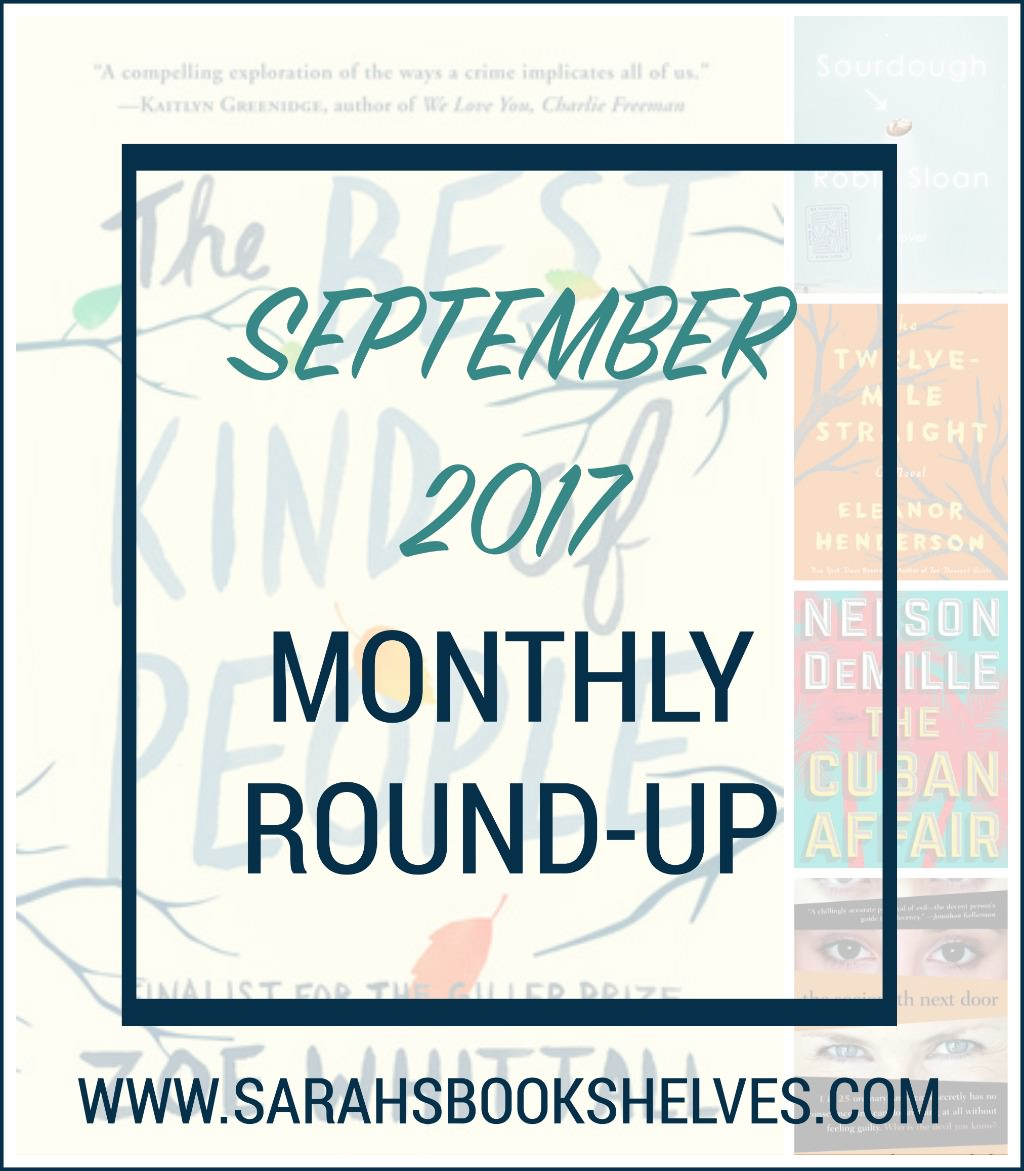 September 2017 Monthly Round-Up
