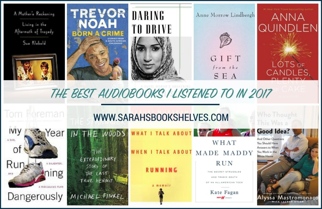 Best Audiobooks I Listened to in 2017