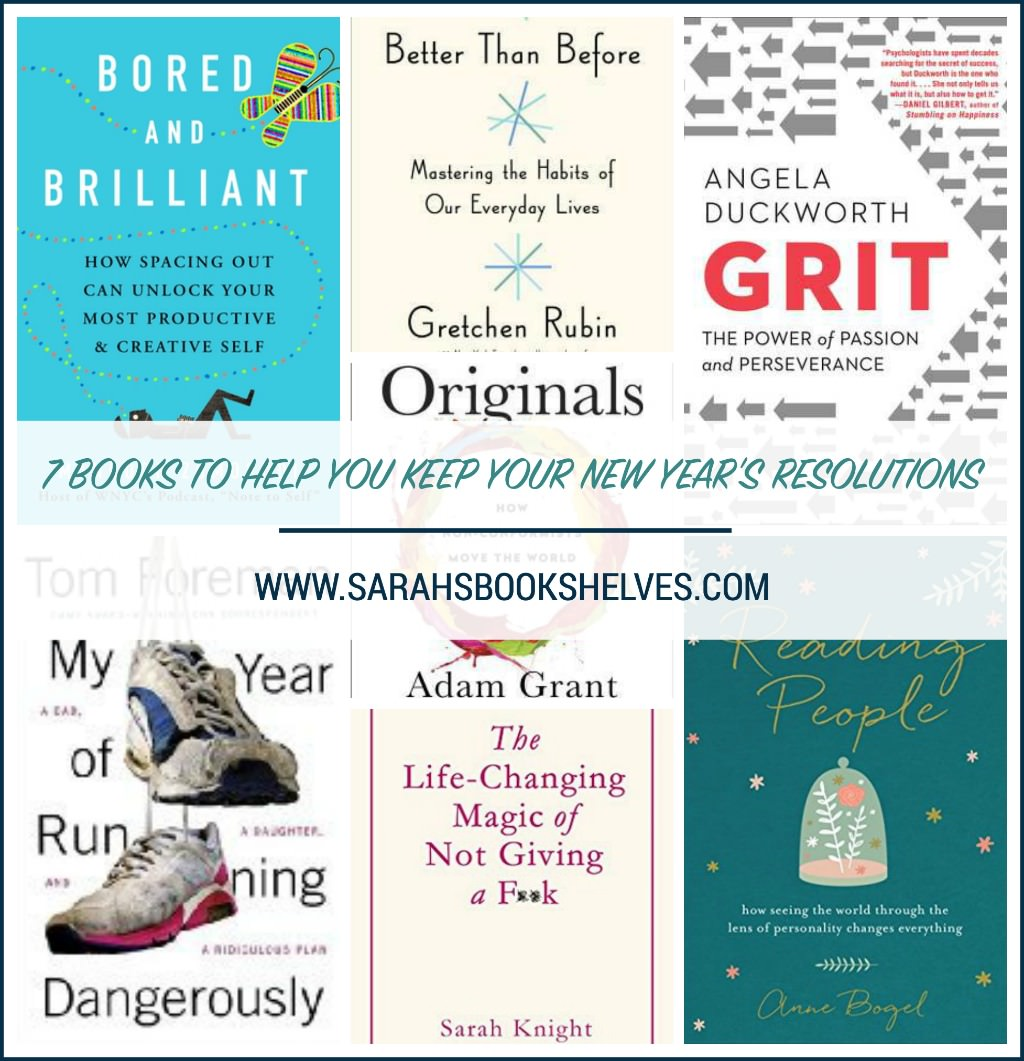 Books to Help You Keep Your New Year's Resolutions