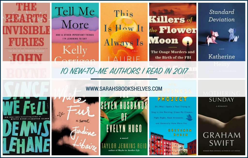 New-To-Me Authors I Read in 2017