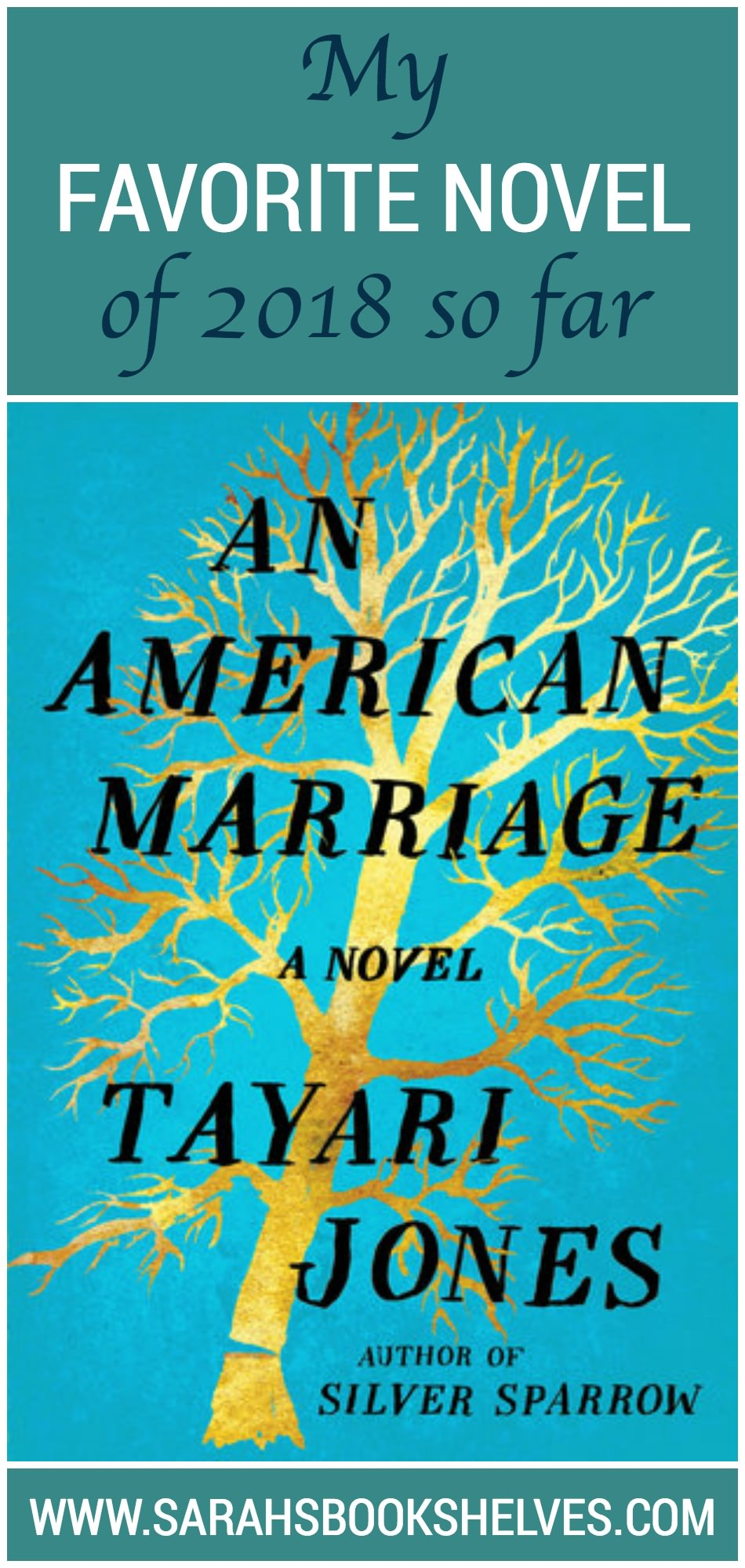 An American Marriage is an intimately written novel that tackles a number of weighty issues in an organic way...and is my favorite novel of 2018 so far! #reading #bookreviews #book #bookish #bookworms #booklovers