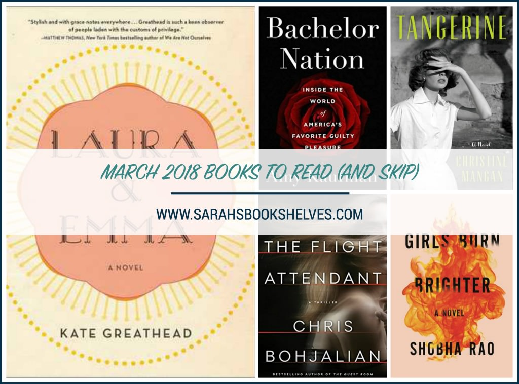 March 2018 Books to Read
