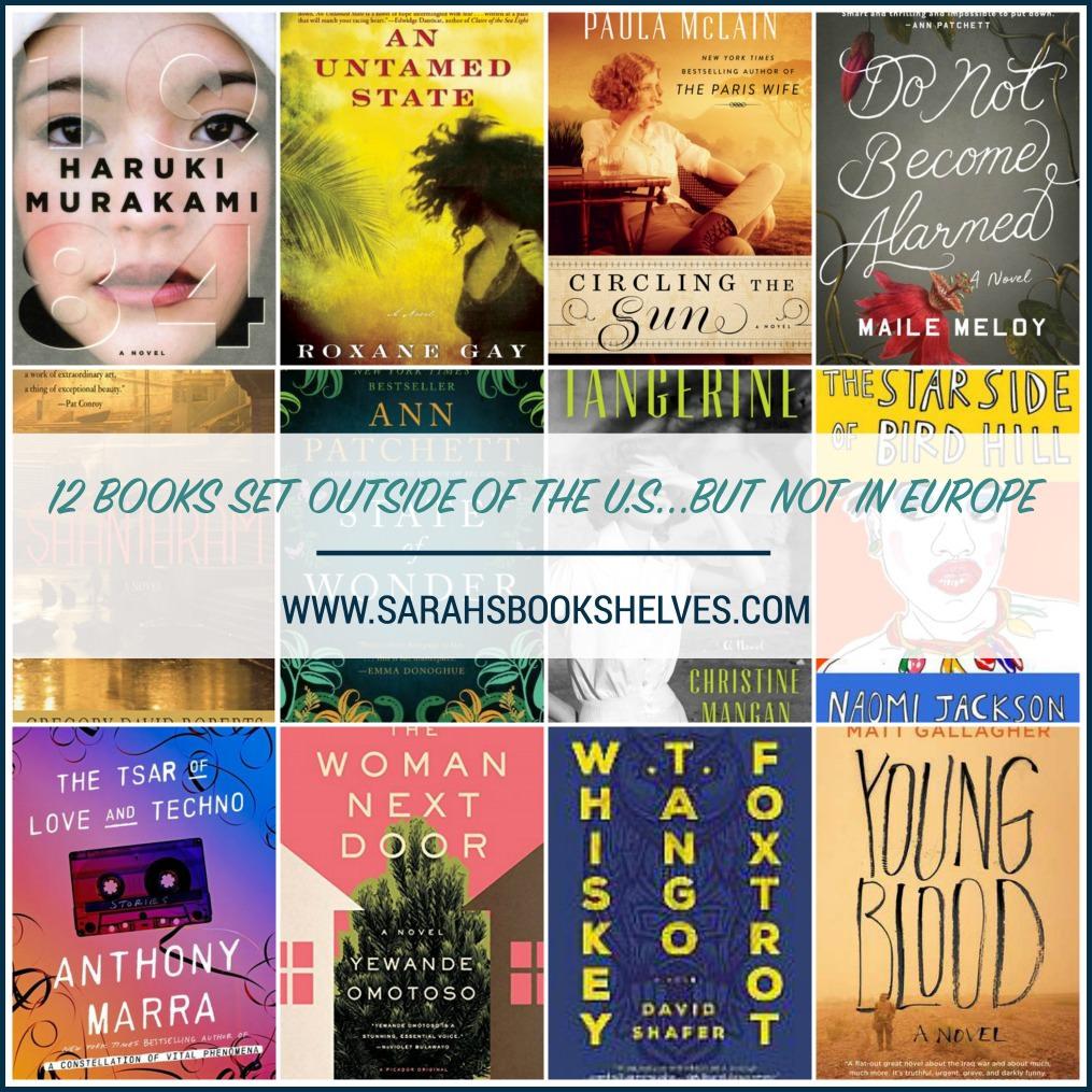 Books Set Outside US
