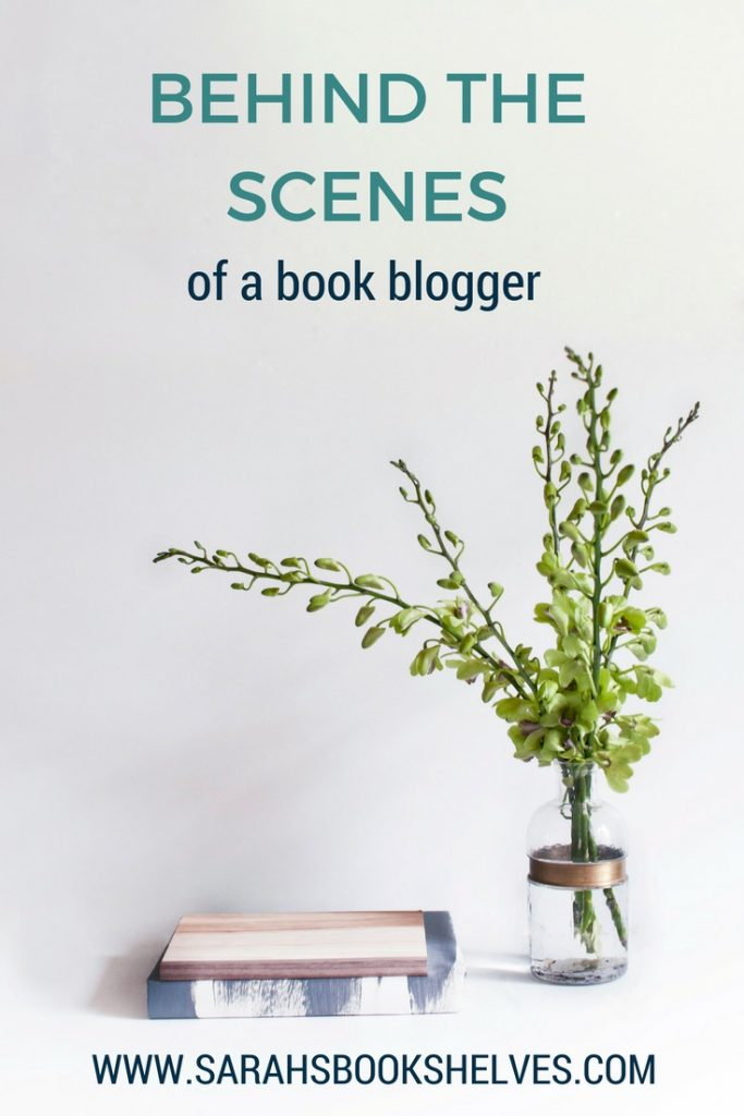 Behind the Scenes of a Book Blogger