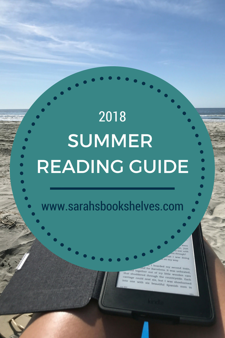 My 2018 Summer Reading List (for adults) is full of books that you will get easily engrossed in and don't take a ton of concentration. I've got you covered for something fun, fast-paced, substantive, or different. PLUS: a printable cheatsheet you can take to the bookstore or library! #reading #books #bookish #bookworm #booklover #bookstagram #summerreading