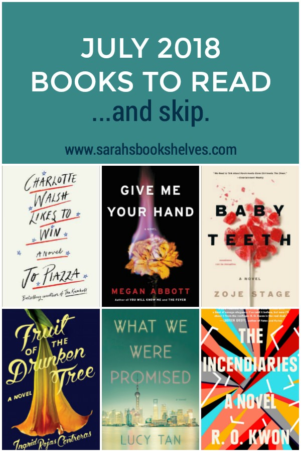 July 2018 Books to Read
