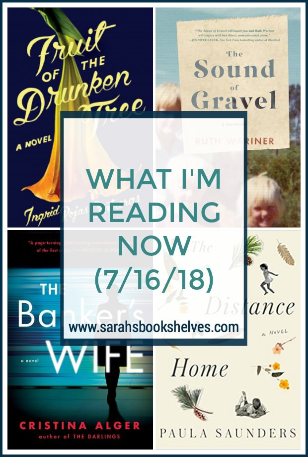 What I'm Reading Now (7/16/18): I finished off my July books and I'll be adding one to my Summer Reading List! #reading #books #bookish #bookworm #booklover #bookstagram #summerreading