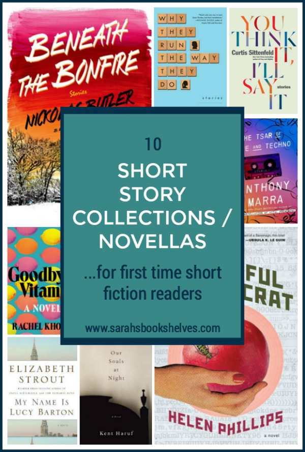 These short story collections and novellas for first time short fiction readers are great books to read if you want to try short stories for the first time. They're accessible and entertaining! #reading #books #bookish #bookworm #booklover #bookstagram