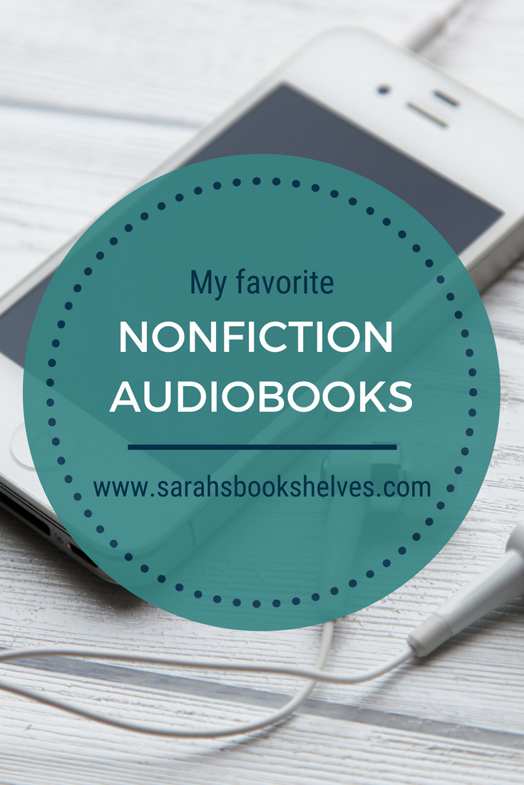 I've found my niche with nonfiction audiobooks..so I'm sharing my favorite nonfiction audiobooks for adults with you! #reading #books #bookish #bookworm #booklover #bookstagram #audiobooks