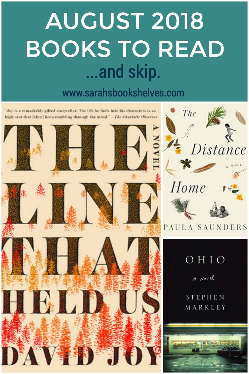 August 2018 Books to Read: August brought some solid literary fiction books to read...and one buzzy book that I don't think will resonate with regular readers! #reading #books #bookish #bookworm #booklover #bookstagram